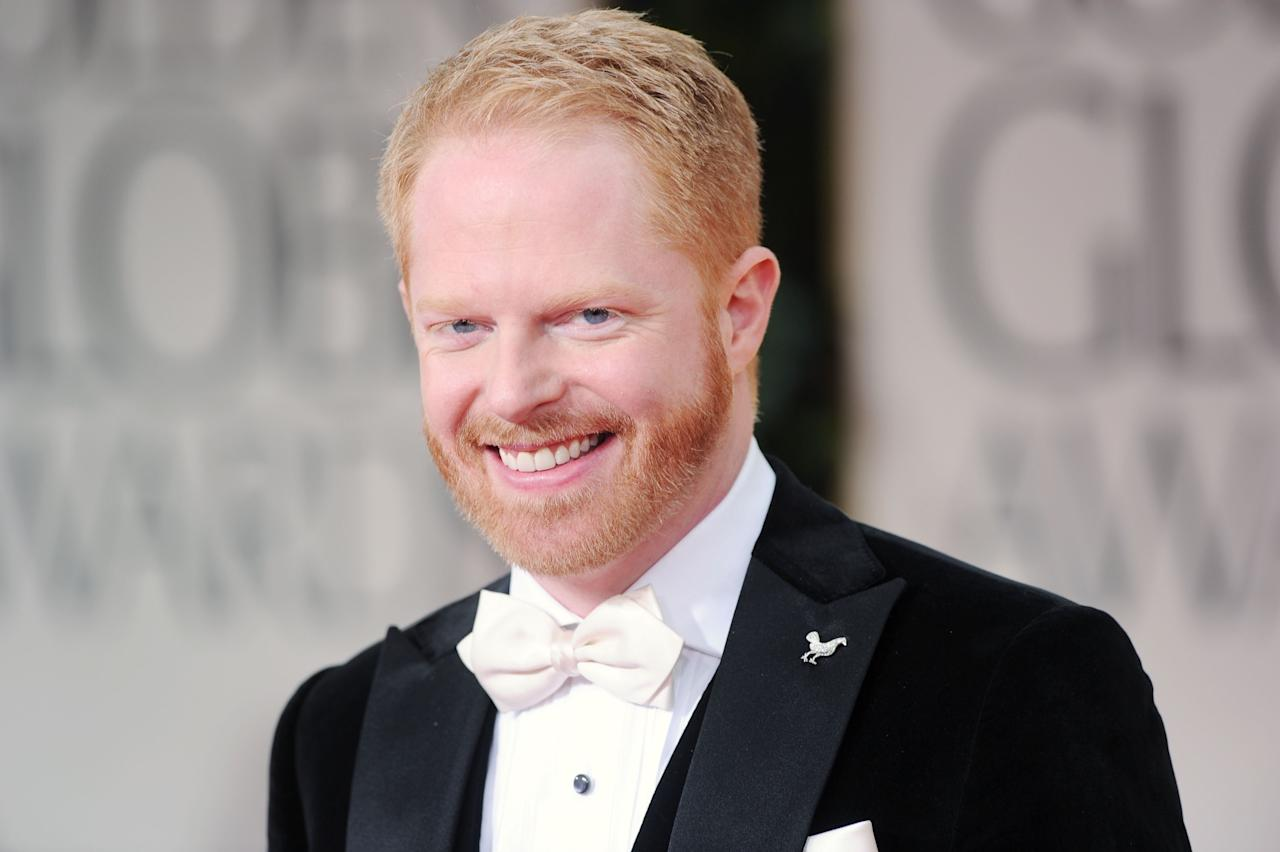 Three-time Emmy nominee Jesse Tyler Ferguson recently starred as Leo Bloom in a production of Mel Brooks' musical 'The Producers' at the Hollywood Bowl. (Photo by Jason Merritt/Getty Images)
