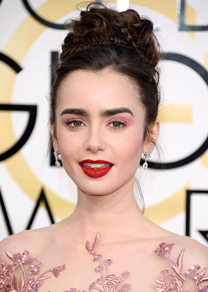 At the 74th Annual Golden Globe Awards