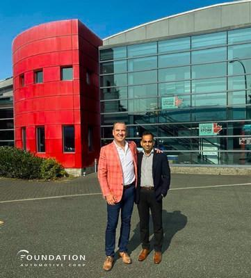 Foundation welcomes it's newest store in British Columbia, Foundation North Vancouver Chrysler Dodge Jeep Ram. (CNW Group/Foundation Automotive Corp)