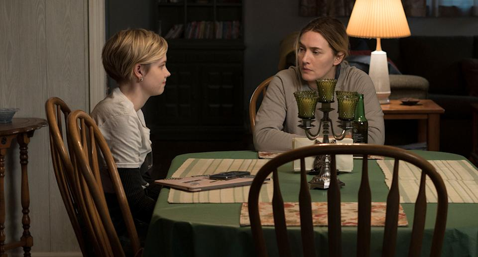 Kate Winslet as Mare Sheehan & Angourie Rice as Siobhan (HBO)