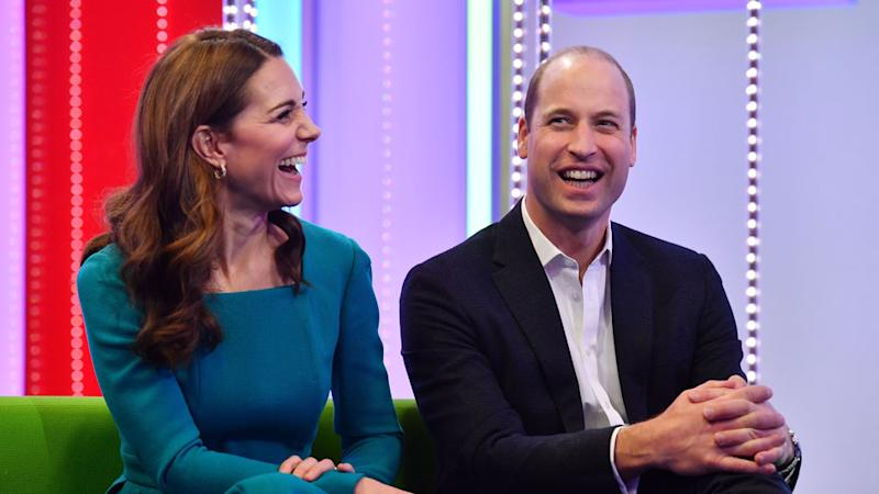 Kate Middleton & Prince William Shared A Rare Moment of PDA—We'd Like More, Please