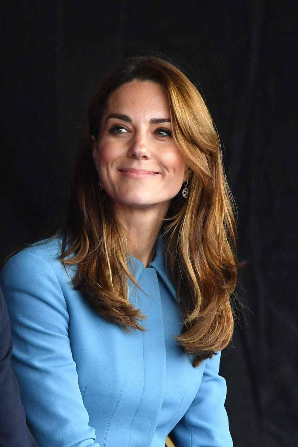 """<p>Kate Middleton has noticeably added some caramel tones to her signature color and celebrity hairstylist<a href=""""https://www.instagram.com/hairinel/?hl=en"""" rel=""""nofollow noopener"""" target=""""_blank"""" data-ylk=""""slk:Irinel de León"""" class=""""link rapid-noclick-resp""""> Irinel de León</a> is all about it. """"Some women love going darker during fall but sometimes I recommend added some lighter tones to keep a sun kissed look throughout the fall and winter months."""" She cautions, though, that anyone with very dark hair may want to steer clear of this look. """"Achieving this hair color would mean lightening a few levels, which makes regrowth pretty obvious if it's not maintained."""" </p>"""