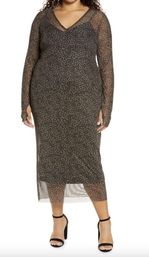 <p>You'll make a great impression in this stylish <span>AFRM Power Mesh Long Sleeve Midi Dress</span> ($49, originally $88).</p>