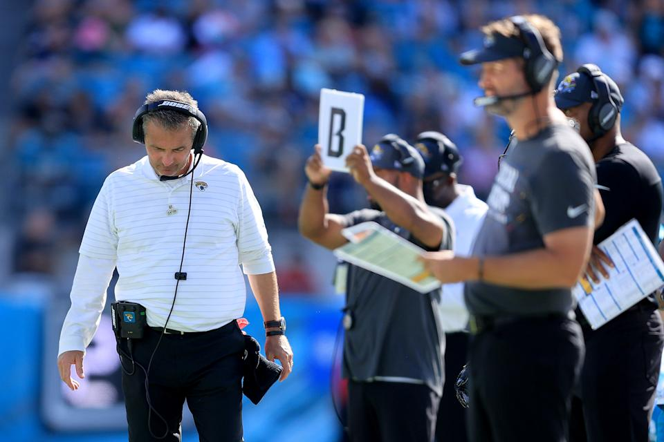Urban Meyer has big dreams for a Jaguars offense. (Sam Greenwood/Getty Images)