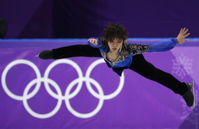 Figure Skating - Pyeongchang 2018 Winter Olympics - Men Single free skating competition final - Gangneung, South Korea - February 17, 2018 - Shoma Uno of Japan competes. REUTERS/Phil Noble