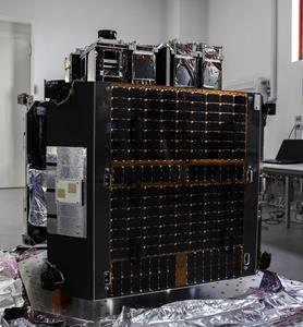 ION Satellite Carrier is a cargo spacecraft that can transport satellites in orbit and release them individually into distinct orbital slots.