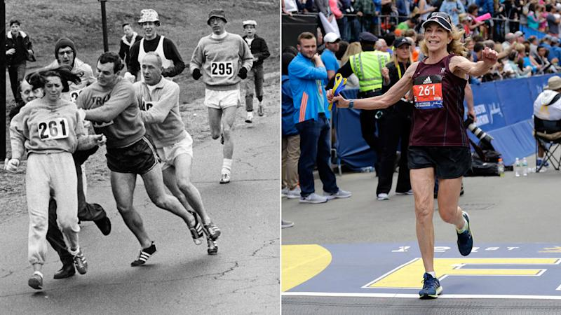 She Was the First Woman to Run the Boston Marathon. 50 Years Later, She's Back