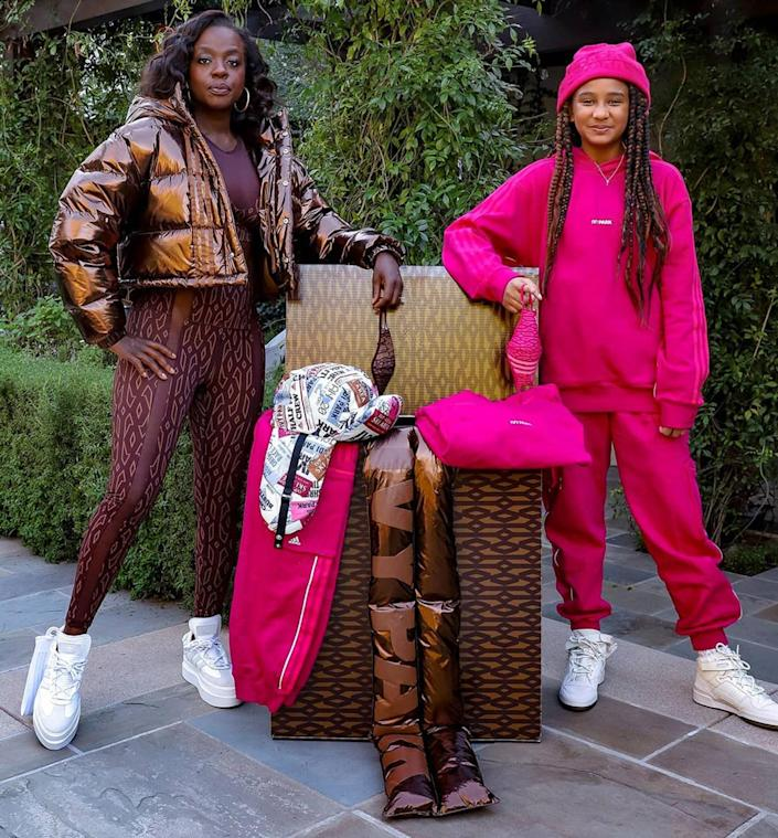 "<p>The mother-daughter duo <a href=""https://people.com/parents/viola-davis-models-ivy-park-outfits-daughter-genesis-thanks-beyonce/"" rel=""nofollow noopener"" target=""_blank"" data-ylk=""slk:rocked some Ivy Park outfits"" class=""link rapid-noclick-resp"">rocked some Ivy Park outfits</a> — courtesy of none other than Beyoncé, of course — and looked impeccably cool while doing it. </p> <p>""Thank you @Beyonce!! Genesis and I love @WeAreIvyPark's new #IcyPark collection!!! 😍🔥 #AvailableNow #IVYPARK #Adidas,"" Davis captioned the post. </p>"