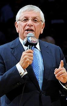 """NBA commissioner David Stern says there will be """"enormous consequences"""" to the season if a labor deal isn't reached soon"""