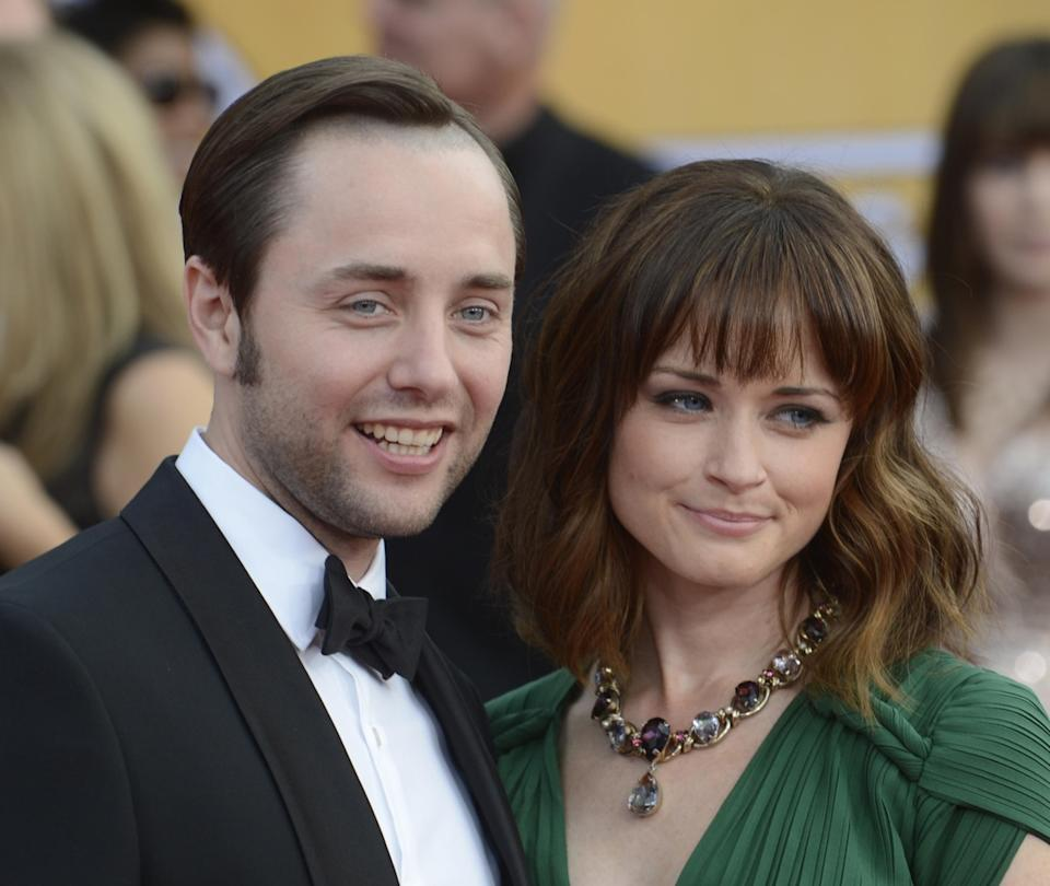 Actor Vincent Kartheiser and actress Alexis Bledel