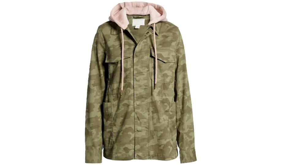 Caslon Hooded Utility Jacket - Nordstrom. $40, (originally $100)