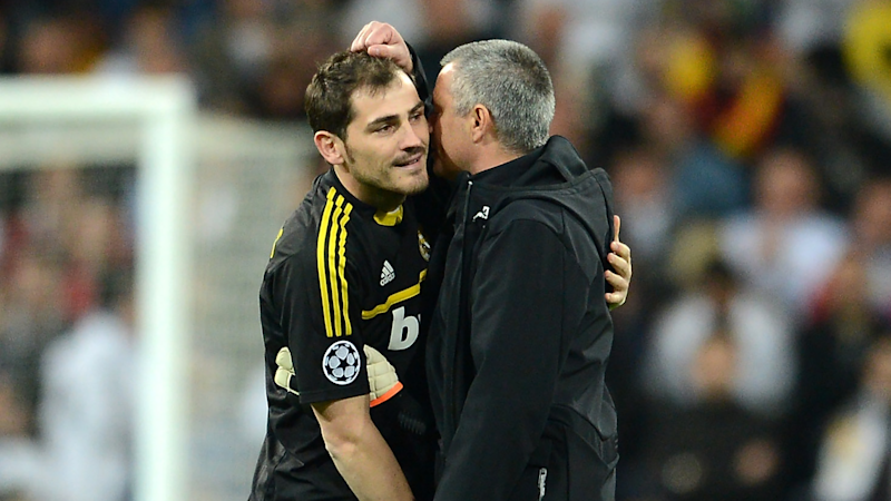 'A great goalkeeper and great man' - Mourinho claims he's repaired relationship with Casillas