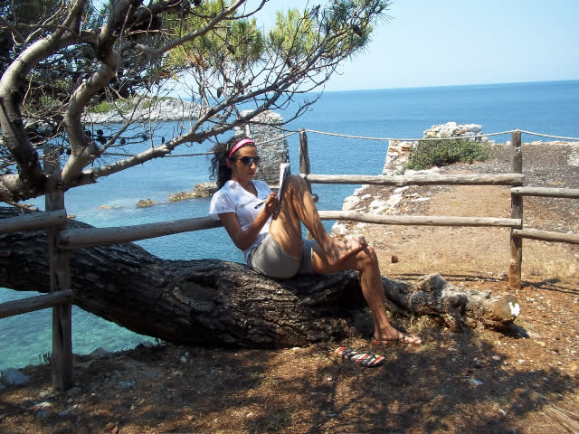 """<p>Suffering from writer's block? A week in beautiful Greece with tuition from a top author might be just the ticket to get cracking on that novel. Skyros has <a rel=""""nofollow noopener"""" href=""""https://www.skyros.com/holiday-locations/greece-skyros-centre/programme/"""" target=""""_blank"""" data-ylk=""""slk:a seven-night How to Build a Novel course"""" class=""""link rapid-noclick-resp"""">a seven-night How to Build a Novel course</a> on Skyros Island with tips from Kiwi-born author DJ Connell. The price, from £725, includes three hours' daily writing tuition for five days, half-board twin accommodation, plus yoga, music and arts courses. Departs September 9 2017.<br><i>[Photo: Skyros]</i> </p>"""