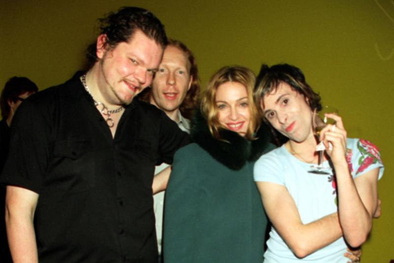 Madonna with The Sneaker Pimps, 1999: Dave Benett