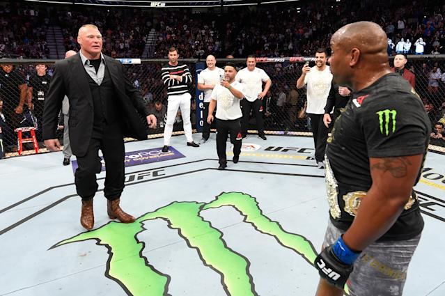 What's next for Daniel Cormier? It might be a UFC heavyweight title defense against Brock Lesnar. (Getty Images)