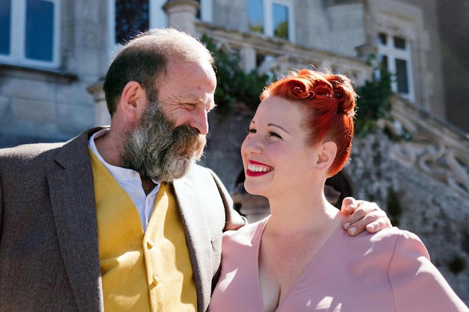 Dick and Angel have been transforming the 19-Century Chateau de La Motte Husson into a beautiful hotel and wedding venue