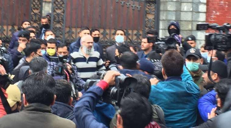 Omar Abdullah walks out of detention after nearly eight months