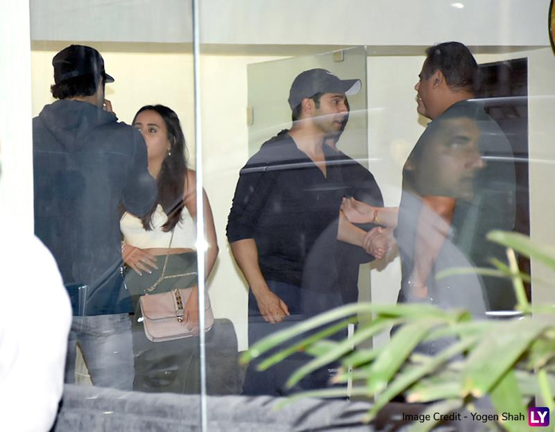 Alia, Ranbir with Varun and Natasha.