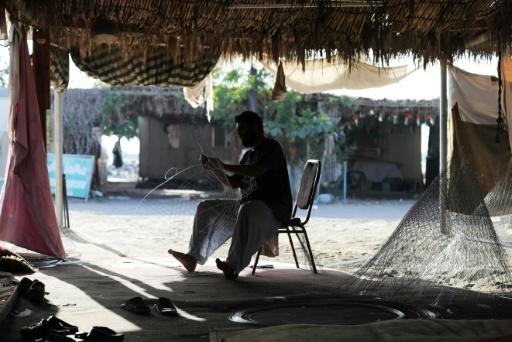 Kalba in the United Arab Emirates is a hub for the craft of weaving fishing cages, attracting dozens of Afghans and Pakistanis to work there