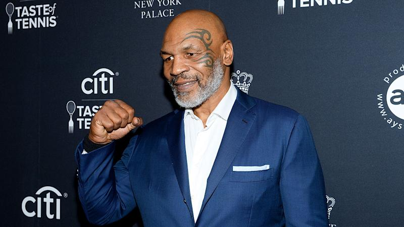 Pictured here, former heavyweight champion Mike Tyson.