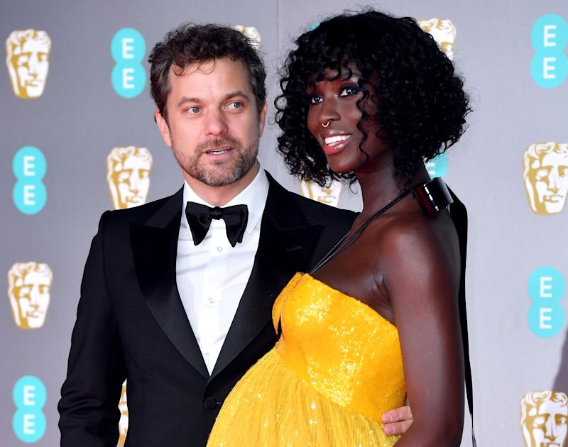 Joshua Jackson and Jodie Turner-Smith attending the 73rd British Academy Film Awards held at the Royal Albert Hall, London, on Feb. 2, 2020.  (Photo: Matt Crossick - PA Images via Getty Images)