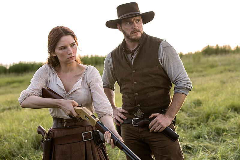 <p>Between 'The Magnificent Seven' (pictured, with Chris Pratt), 'The Girl on the Train,' and 'Rules Don't Apply,' Haley Bennett proved that she was more than just a pretty face — she's a versatile actress primed for Hollywood stardom. (Photo: Everett collection) </p>