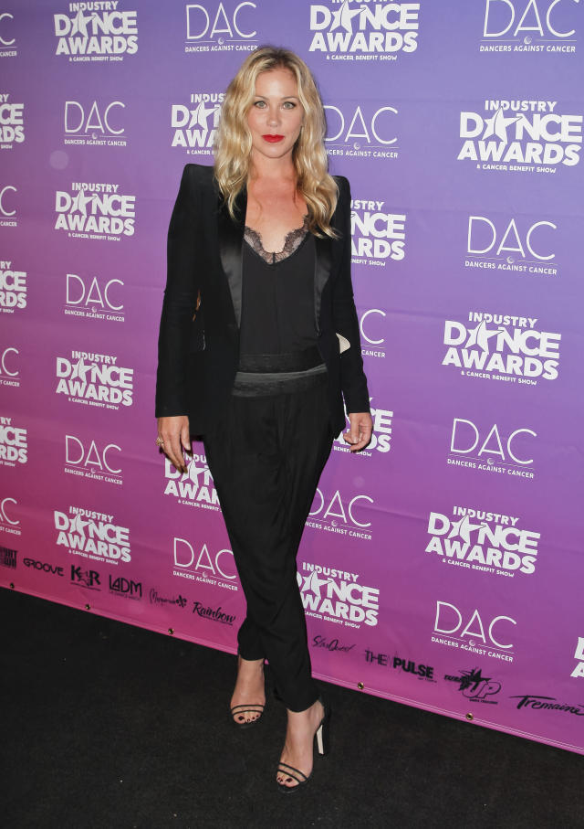 Christina Applegate attends the 2017 Industry Dance Awards. (Tibrina Hobson via Getty Images)