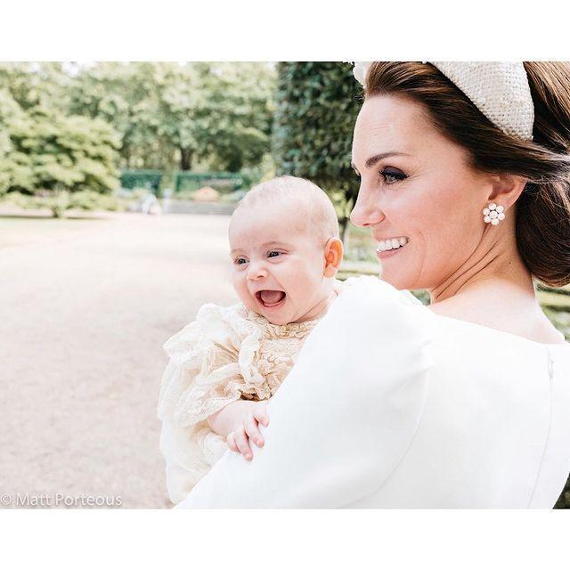 "<p>Doesn't he look happy to have been christened? In July 2018, when Prince Louis was just two-and-a-half months old, the royal family <a href=""https://www.cosmopolitan.com/uk/reports/a22089546/prince-louis-pictures-christening/"" rel=""nofollow noopener"" target=""_blank"" data-ylk=""slk:celebrated his christening"" class=""link rapid-noclick-resp"">celebrated his christening</a> at the Chapel Royal, St James's Palace. A week or so later, they shared <a href=""https://www.cosmopolitan.com/uk/reports/a22149874/prince-louis-official-christening-photo/"" rel=""nofollow noopener"" target=""_blank"" data-ylk=""slk:some of the official portraits"" class=""link rapid-noclick-resp"">some of the official portraits</a> from the day, including this cute one showing off the baby prince's megawatt smile.</p><p><a href=""https://www.instagram.com/p/BlSWcJunlMb/"" rel=""nofollow noopener"" target=""_blank"" data-ylk=""slk:See the original post on Instagram"" class=""link rapid-noclick-resp"">See the original post on Instagram</a></p>"