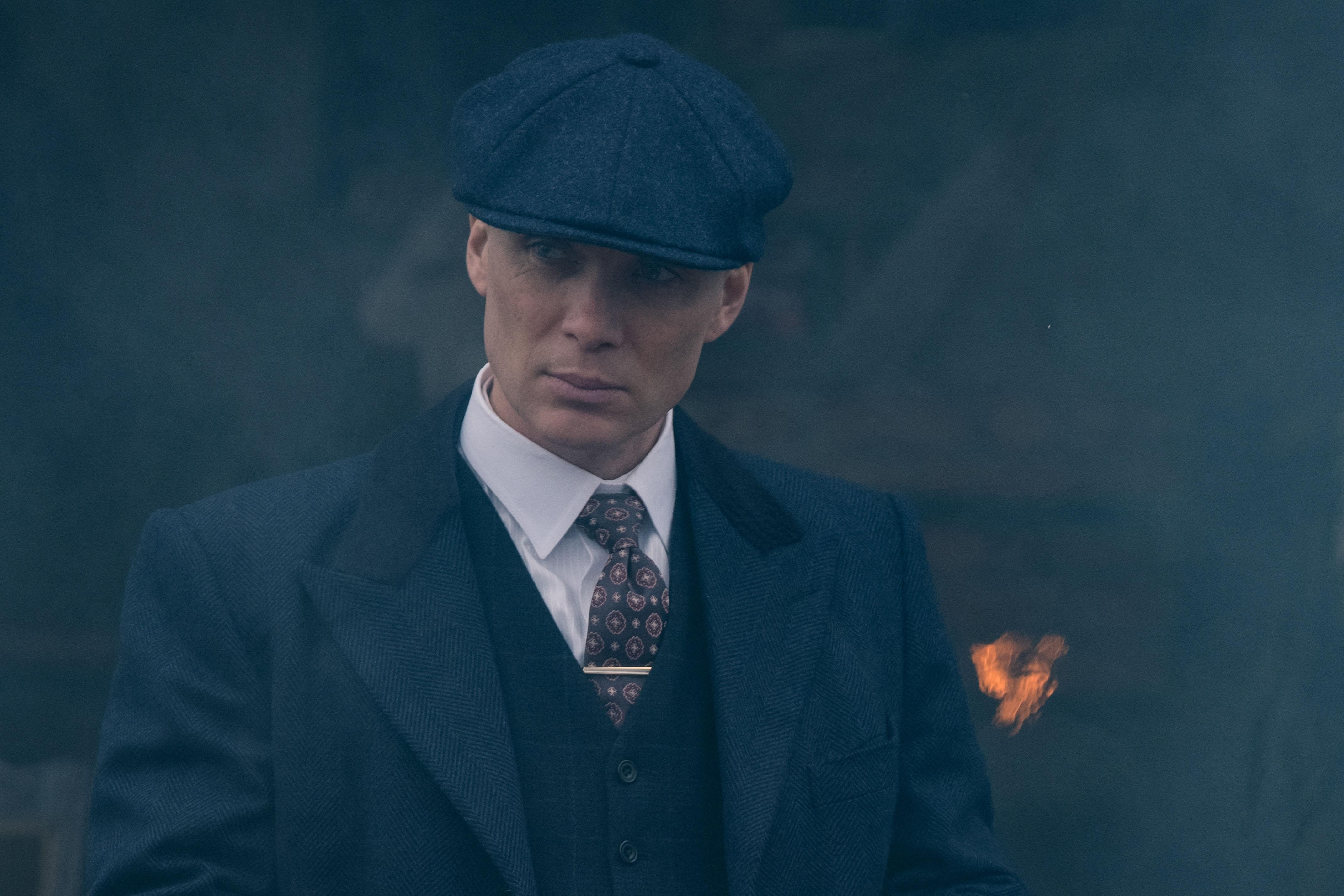 Tommy Shelby (Cillian Murphy) in Peaky Blinders (BBC)