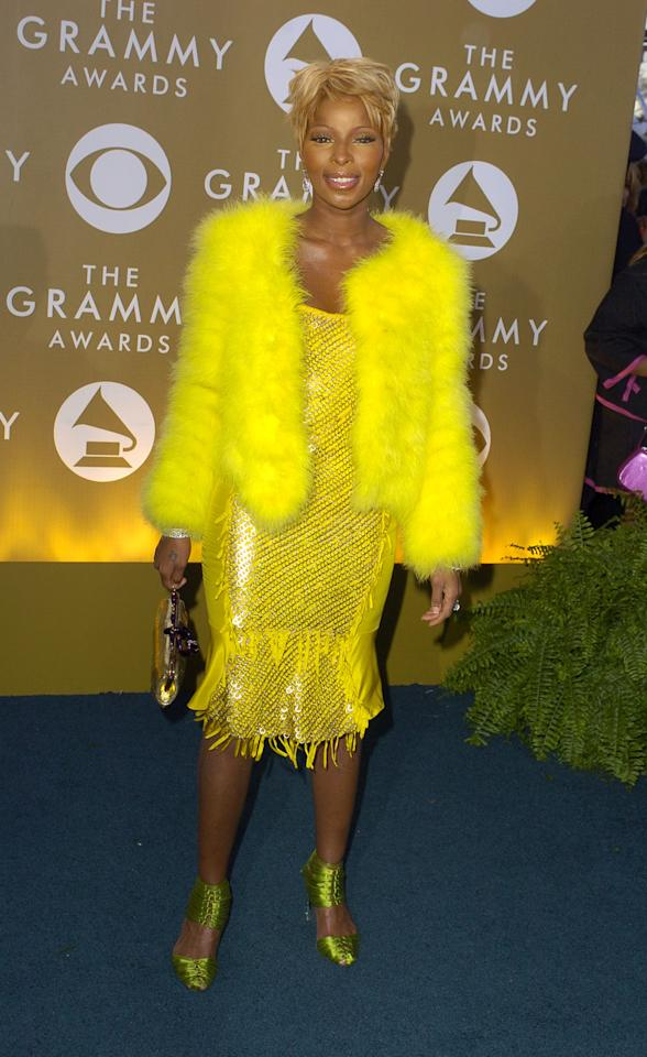 Mary J. Blige (Photo by SGranitz/WireImage for NARAS)