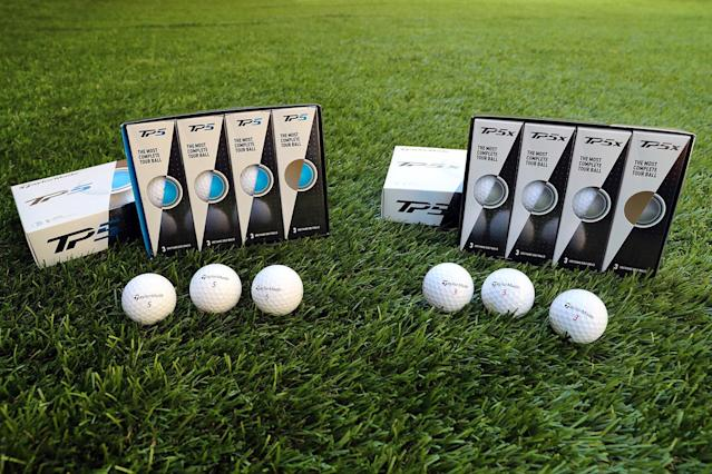 "<p>If your man has some golf chops, he can definitely take advantage of a high-quality golf ball. The new balls from TaylorMade have a soft feel that promotes control of the ball off the clubface as well as on the greens; the TP5 will grip and stop where lesser balls will hit and roll away into bogey territory. He might prefer the TP5X for a little more distance or the TP5 for accurate chip shots. <a href=""https://taylormadegolf.com/taylormade-balls-TP5-TP5x/"" rel=""nofollow noopener"" target=""_blank"" data-ylk=""slk:$45/dozen"" class=""link rapid-noclick-resp"">$45/dozen</a> (Gordon Donovan/Yahoo News) </p>"