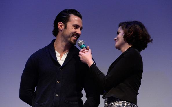 Actor Milo Ventimiglia (L) and actress Roxane Mesquida attend the 'Kiss of the Damned' screening at the 2013 SXSW Music, Film + Interactive Festival held at the Topfer Theatre at ZACH on March 12, 2013 in Austin, Texas.