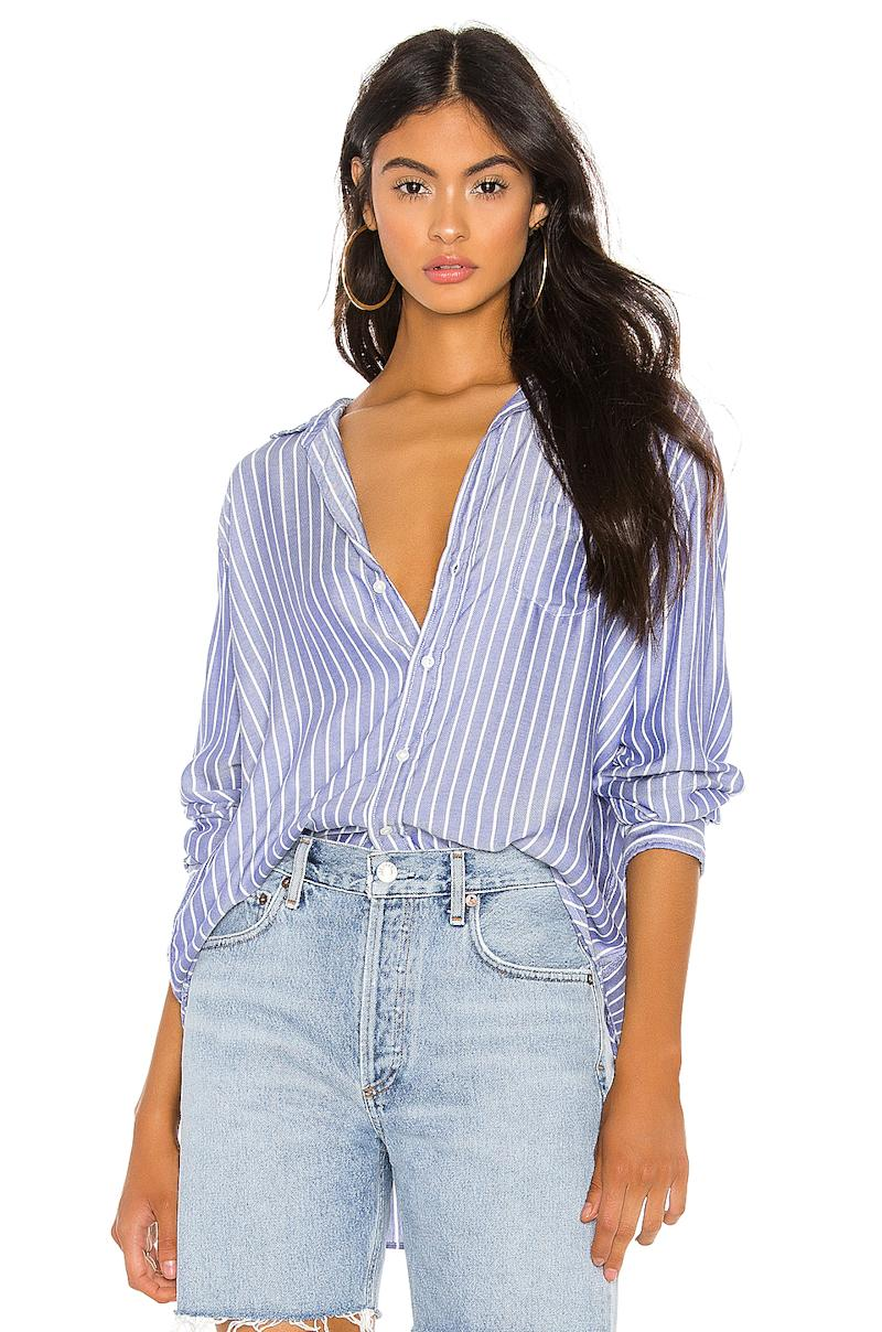 Frank & Eileen's Eileen Button Down is currently on sale for $182 CAD at Revolve.