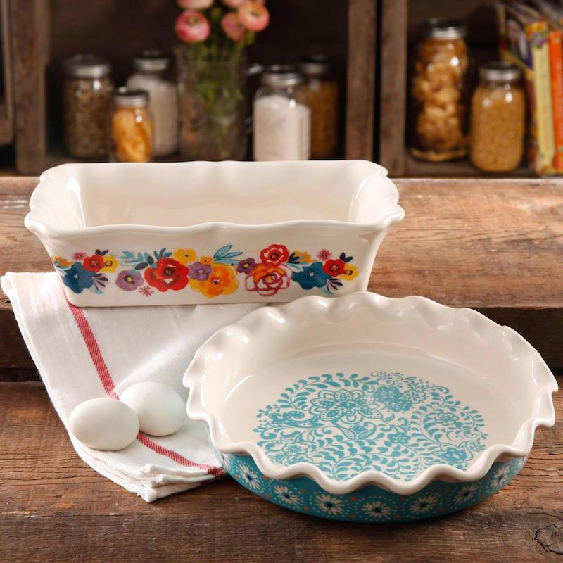 """<p>The gorgeous floral pattern rounds out this lovely dish to create a truly special addition to the baker's kitchen. Available at Walmart, <a href=""""http://yahooshopping.pgpartner.com/plr.php?id=18036"""" rel=""""nofollow noopener"""" target=""""_blank"""" data-ylk=""""slk:$19.72"""" class=""""link rapid-noclick-resp"""">$19.72</a>.<br></p>"""
