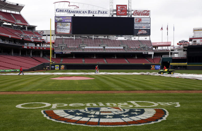 Opening day much more than baseball in Cincinnati