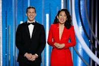 """<p>The Golden Globes may happen at the start of the year, but it always leaves us with plenty to talk about (including <a href=""""https://www.goodhousekeeping.com/beauty/fashion/g25766158/golden-globe-red-carpet-dresses-2019/"""" rel=""""nofollow noopener"""" target=""""_blank"""" data-ylk=""""slk:amazing outfits"""" class=""""link rapid-noclick-resp"""">amazing outfits</a>!) until the next time. From acceptance speeches gone awry to technical difficulties, the Golden Globes has had its fair share of both scandalous and <a href=""""https://www.goodhousekeeping.com/life/entertainment/g25776080/golden-globes-2019-recap/"""" rel=""""nofollow noopener"""" target=""""_blank"""" data-ylk=""""slk:awkward moments"""" class=""""link rapid-noclick-resp"""">awkward moments</a> throughout its history. </p><p>Take a look back at the most awkward moments ever, but you'll probably want to take a deep breath before scrolling. Seriously, you'd be surprised at just how wrong things have gone over the years — from Lady Gaga/Leo's awkward moment to Emma Stone's unforgettable-yet-adorable hug fail to Jimmy Fallon's teleprompter cutting out, there's a lot to cover.</p>"""