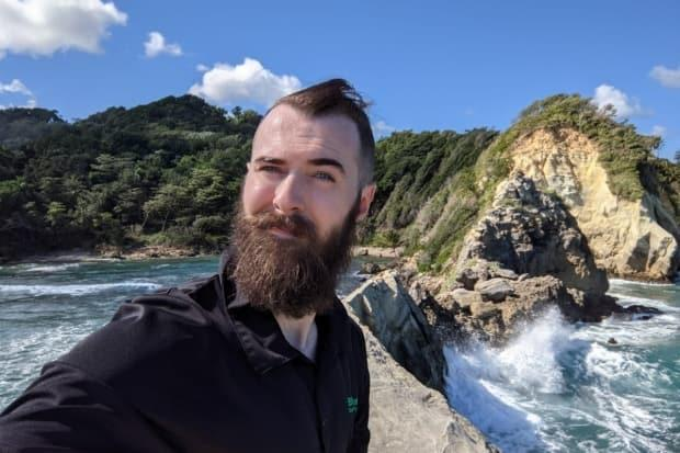 Corbin Smith of Toronto spent several weeks in the Dominican Republic during a flight shutdown caused by COVID-19. He says he was fired for no good reason and essentially stranded, but his former company alleges it offered to fly him home and cover all expenses. (Corbin Smith/GoFundMe - image credit)