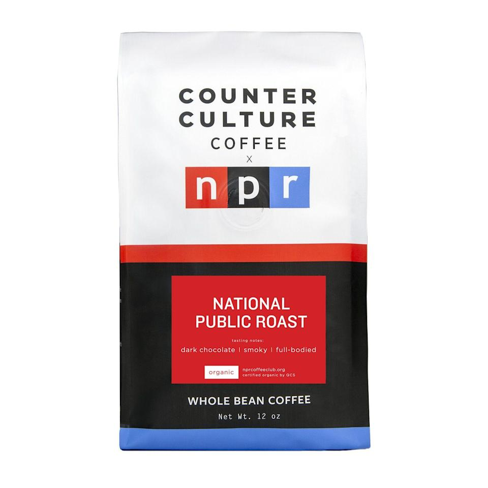 """<p>nprcoffeeclub.org</p><p><strong>$17.00</strong></p><p><a href=""""https://nprcoffeeclub.org/products/national-public-roast"""" rel=""""nofollow noopener"""" target=""""_blank"""" data-ylk=""""slk:BUY NOW"""" class=""""link rapid-noclick-resp"""">BUY NOW</a></p><p>Do you know someone you doesn't miss a single episode of <em>This American Life</em>? Now they can enjoy a cup of coffee from official National Public Radio's brand beans—ethically sourced, of course.</p>"""