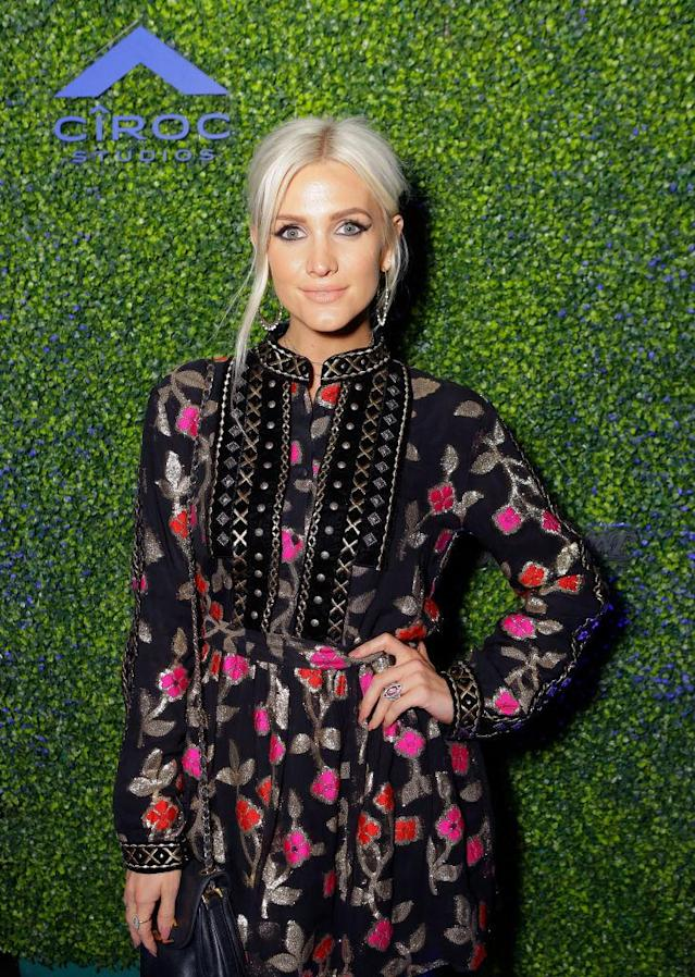 Ashlee Simpson-Ross in 2018. (Photo: Tiffany Rose/Getty Images for Ciroc)