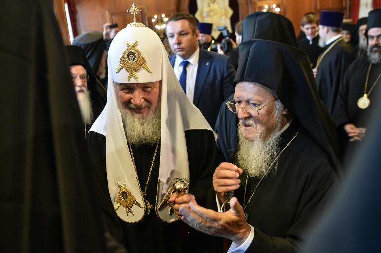 Bartholomew I of the Constantinople Church met with Russian Orthodox Patriarch Kirill in Istanbul last week