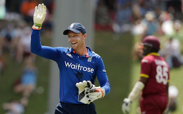 <span>Jos Buttler is currently the man in possession of the England ODI gloves</span> <span>Credit: ap </span>