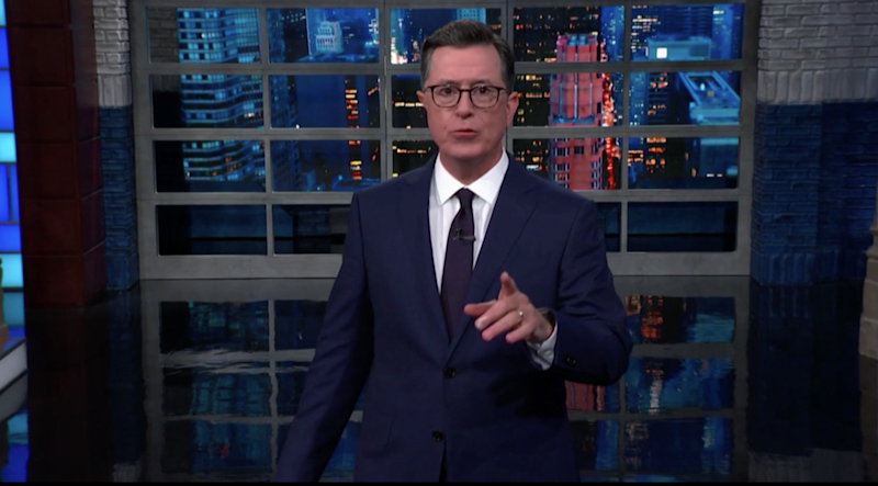 Stephen Colbert and other comics sound off on the impeachment trial. Vote for your favorite Joke.