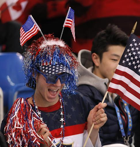 SOCHI SCENE: Jason Brown's patriotic attire