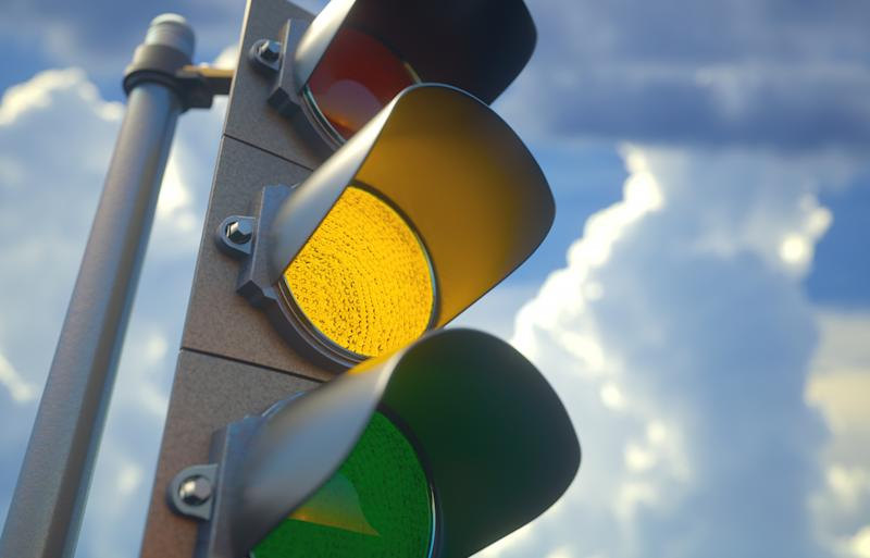 Regardless if you are a bike rider or motorist, you must stop on a yellow light unless it is unsafe to do so. Source: Getty, file