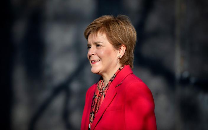 Scotland's First Minister Nicola Sturgeon - Jane Barlow/Pool via REUTERS