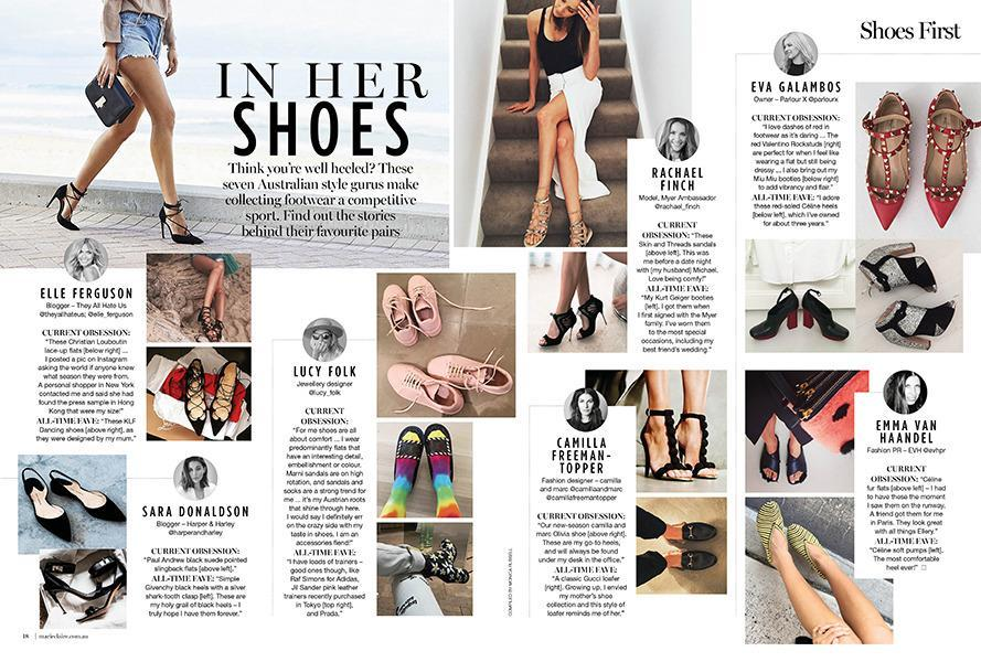 <br><b>STYLE OBSESSIONS:</b> Fashion gurus share their most treasured pairs of shoes