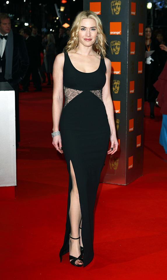 Oscar winner Kate Winslet wore this cutout Stella McCartney gown to the 2010 BAFTAs.