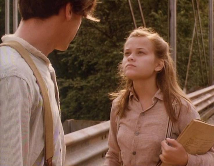 <p>The 1991 movie <em>Wildflower</em> stars a very young Reese Witherspoon as Ellie, a young girl in 1938 who finds a woman alone in a shack (that woman is actually played by Patricia Arquette). Ellie and her brother grow close to the woman and do whatever they can to help improve her life. </p>