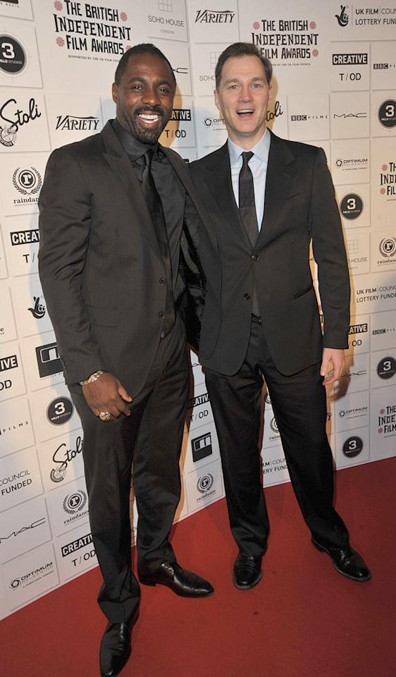 """<a href=""""http://movies.yahoo.com/movie/contributor/1804751393"""">Idris Elba</a> at the 2009 British Independent Film Awards in London - 12/06/2009"""