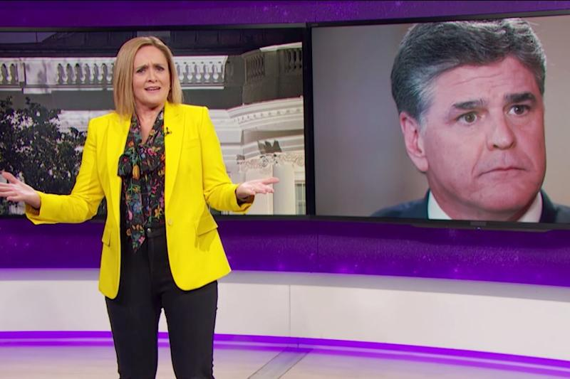 """""""You can't just throw together a bunch of scary buzzwords and out-of-context clips to support an outrageous conclusion . . . but do you know who does that all the time? Sean Hannity."""""""